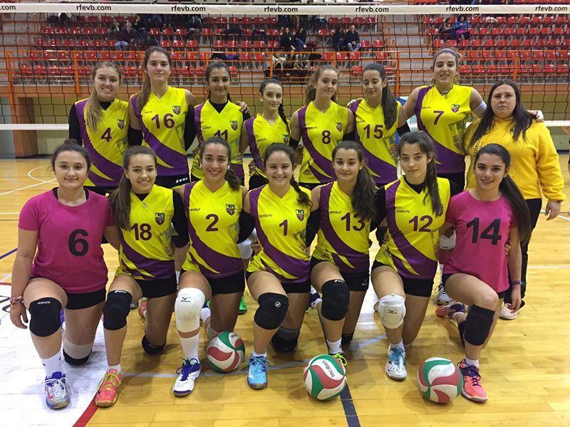 El Club Deportivo Salesianos de Guadalajara jugará el Campeonato de España de Voleibol Juvenil Femenino