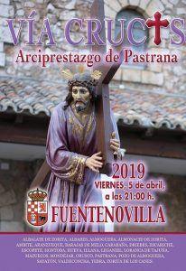 El Vía Crucis interparroquial cita a 25 pueblos de Guadalajara y Madrid este viernes en Fuentenovilla