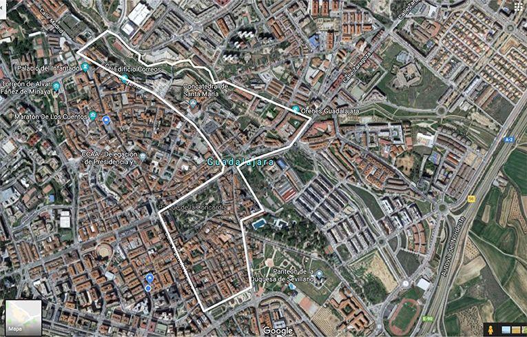 Este lunes arranca en Guadalajara una limpieza integral en una amplia zona del  centro
