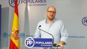 """Lucas Castillo tiene claro que """"Page ha demostrado que margina de forma premeditada a la provincia de Guadalajara por ser del PP"""""""