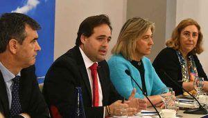Núñez trabajará para romper el efecto frontera de Guadalajara con Madrid y aprovechar las oportunidades que ofrece a la provincia ser la puerta de Europa en España