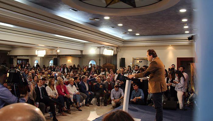 """Núñez destaca que Casado es el líder que España necesita porque es el mejor y el único que puede garantizar un futuro próspero """"para nuestros hijos y nietos"""""""