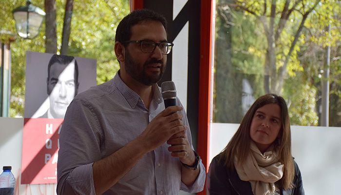 Sergio Gutiérrez Los problemas de las pensiones son la temporalidad, los bajos salarios y el PP