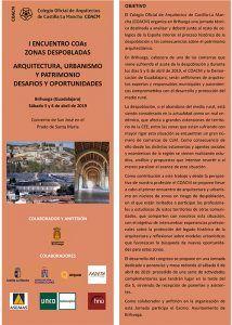 Brihuega acoge una jornada técnica sobre los retos de la despoblación en arquitectura