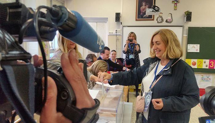 """Valmaña apela a la """"responsabilidad"""" de los guadalajareños """"para entre todos hacer una España más fuerte y unida"""""""