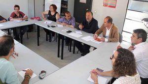"""Alberto Rojo se compromete a crear una mesa de """"trabajo, diálogo y acción"""" donde confluyan agentes sociales y Ayuntamiento"""