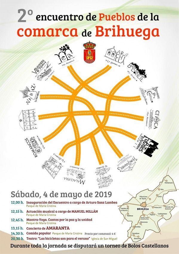 Brihuega celebra este sábado su II Encuentro de Pueblos de la Comarca para estrechar lazos y fortalecer su identidad cultural