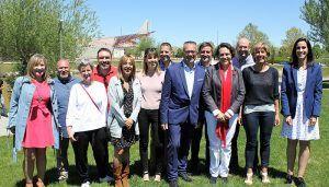 """Cócera """"Con el Parque Empresarial de Valdeluz, el Centro de Salud y la adecuación de nuevos espacios públicos, lideraremos la segunda gran transformación del municipio"""""""