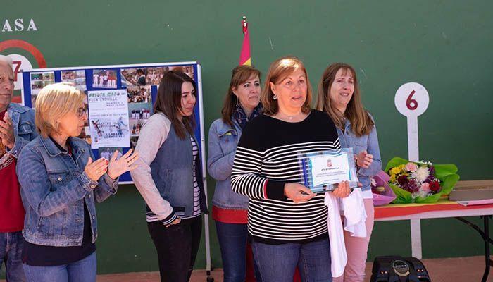 Fuentenovilla homenajea a José María Martín, pelotari local, recientemente fallecido