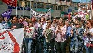 Pablo Bellido destaca el papel de UGT y CCOO en la consecución de derechos para la ciudadanía y pone de manifiesto el apoyo del PSOE a esta labor
