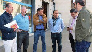 Pablo Bellido y Alberto Rojo escuchan las propuestas de UGT para conseguir empleo de más calidad