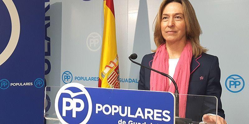 Ana Guarinos asegura que Ciudadanos ha cruzado todas las líneas rojas, se ha entregado en bloque al PSOE, y también a Podemos y pone como ejemplo a El Casar