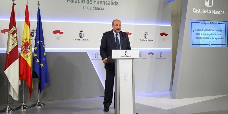 Castilla-La Mancha aprueba el modelo de declaración de bienes, rentas y actividades de los gestores públicos más completo del país