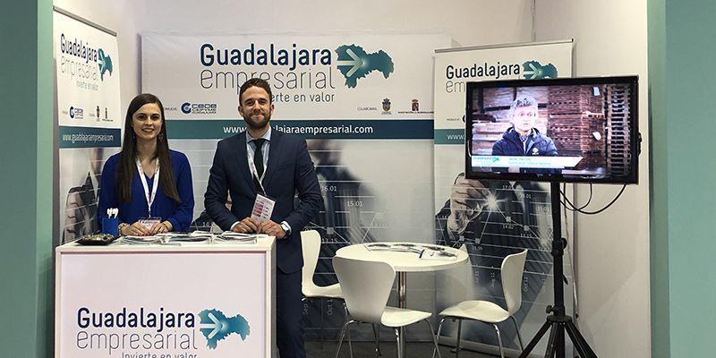 """""""Guadalajara Empresarial"""" promociona en la Feria SIL de Barcelona las ventajas empresariales de la provincia"""