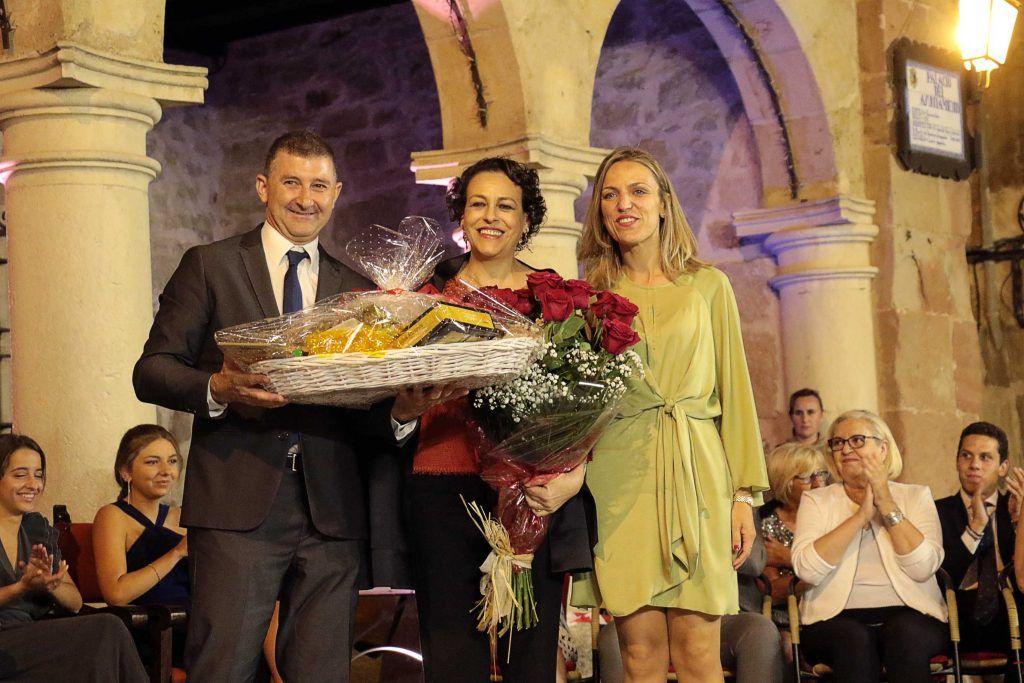 Magdalena Valerio, ministra de Trabajo en funciones, pregona las Fiestas de San Roque