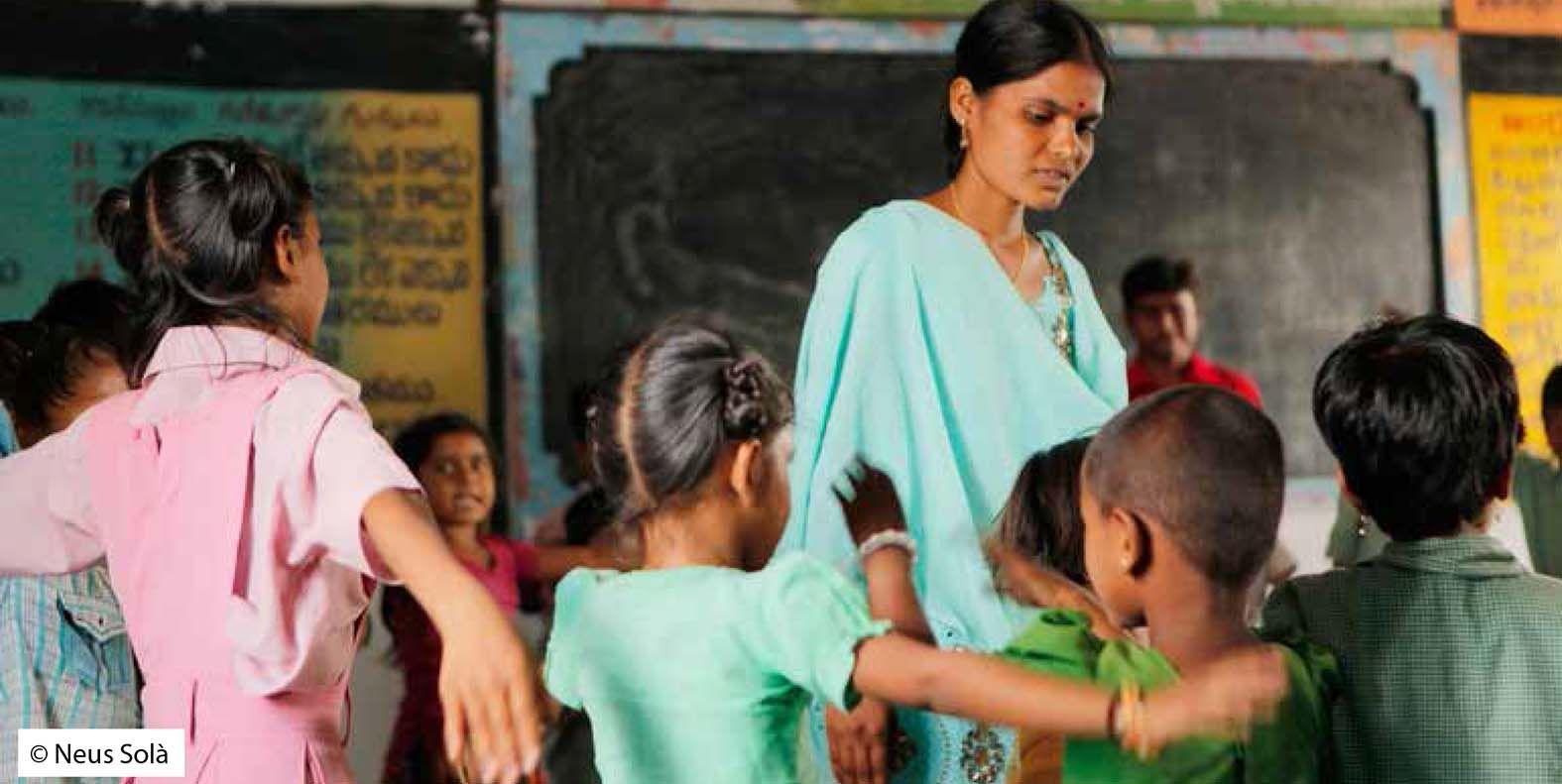 Cabanillas aporta 20.000 euros a un proyecto de cooperación educativa en la India, con la Fundación Vicente Ferrer