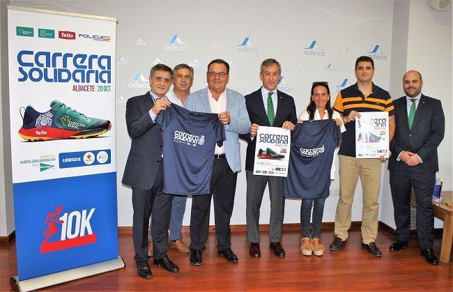 La Carrera Solidaria cuenta con un nuevo apoyo ADECA