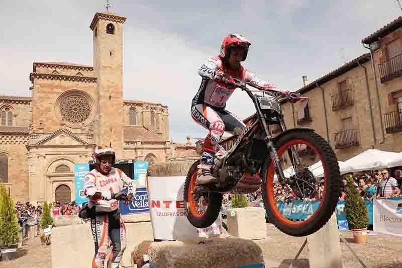Bou se alza con el campeonato de España de Trial en Sigüenza