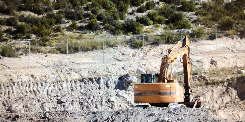 Ecologistas en Acción denuncia ante la Fiscalía el desarrollo de unas obras ilegales para una planta de hormigón en Hontoba