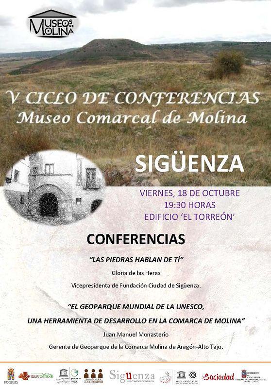 V Ciclo de conferencias del Museo Comarcal de Molina, en Sigüenza