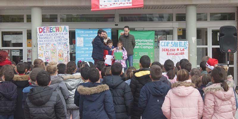 Cabanillas celebró el Día Universal de la Infancia con niños y niñas de los tres colegios de Primaria