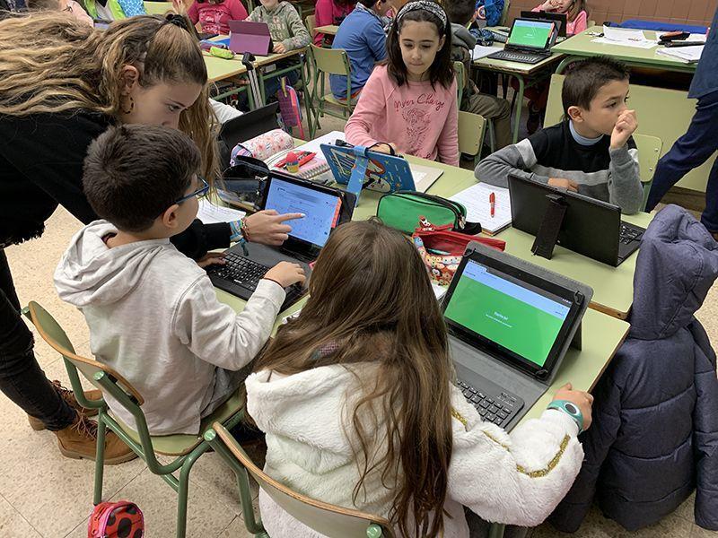 El CEIP Santa Ana de Cuenca, a la vanguardia de la enseñanza con medios tecnológicos
