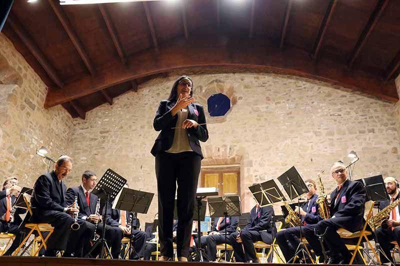 El tradicional concierto de Santa Cecilia de la Banda de Música cierra Semana de la Música de Sigüenza