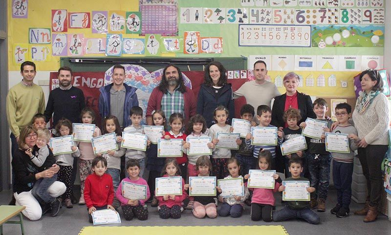 Entregados en Cabanillas los diplomas del Programa TEI contra el acoso escolar al alumnado de colegios e instituto