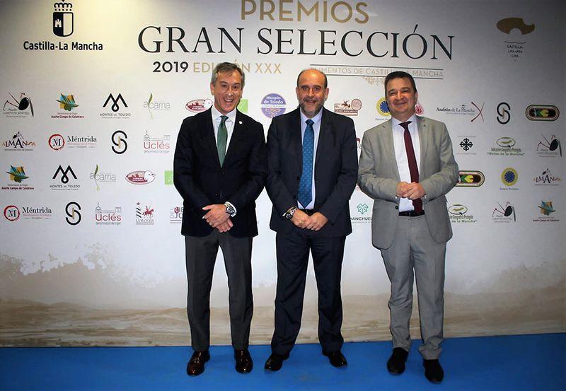 Eurocaja Rural acude a los 'XXX Premios Gran Selección', apoyando al sector agroalimentario de la región
