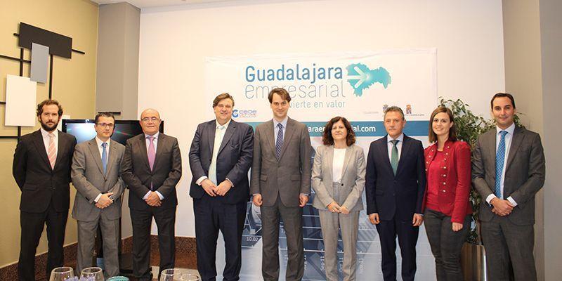 """""""Guadalajara Empresarial"""" mantiene un almuerzo de trabajo con el ministro de la Embajada de Alemania, Christoph Wolfrum"""