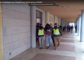 Detenida una persona en Guadalajara que integraba una red de apoyo a DAESH que operaba entre España y Marruecos