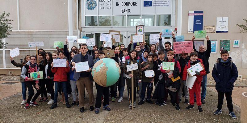 El Colegio Los Olivos de Cabanillas toma conciencia contra la crisis climática