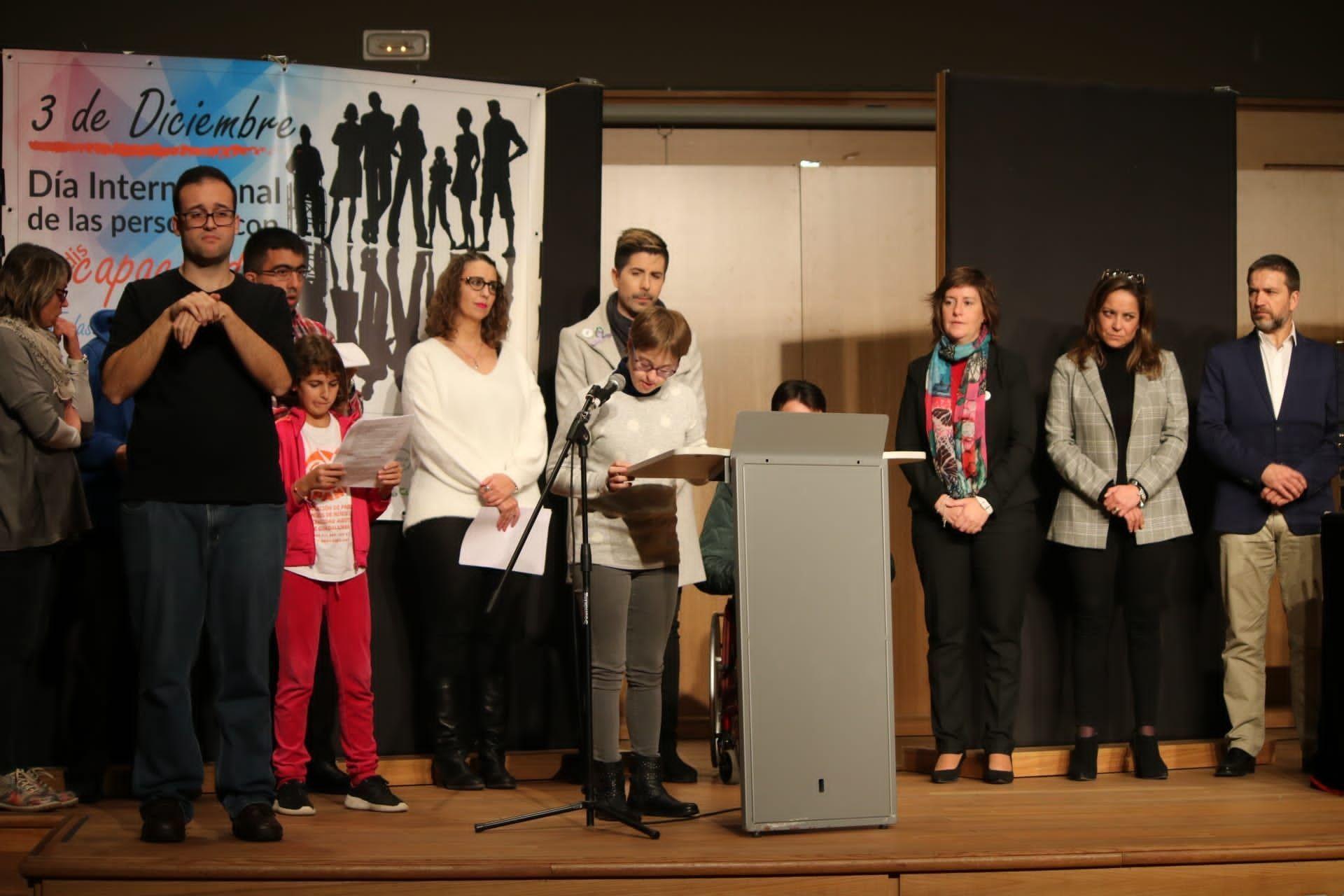 Guadalajara conmemora el Día de la Discapacidad apelando a luchar contra la soledad no deseada