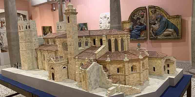 Inaugurada en el Museo Diocesano la tercera y última parte de la exposición 'Fortis Seguntina'