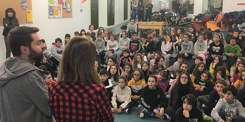 Más de 150 chicos y chicas conviven en el 2º Intercoles de Cabanillas