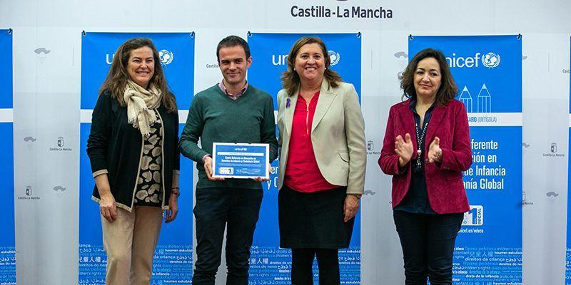 El Colegio 'Maristas Champagnat' de Guadalajara, reconocido como referente en educación en derechos de la Infancia y Ciudadanía