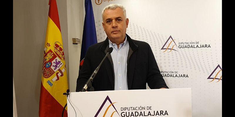 """El presidente de la Diputación de Guadalajara felicita y agradece la labor de todo el personal de la Institución en la borrasca """"Gloria"""""""