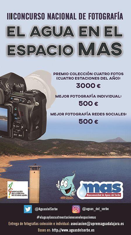 La MAS convoca la III edición de los premios de Mini Documentales con Dron  y  de Fotografía dotados con 7500 euros en premios