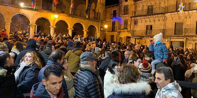 Sigüenza despide multitudinariamente la Navidad, con el soniquete de la dulzaina de San Vicente
