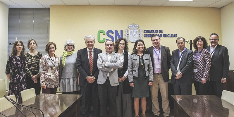 """AMAC y CSN trazan las próximas actuaciones en materia nuclear en la """"primera reunión de trabajo"""" de sus nuevas directivas"""