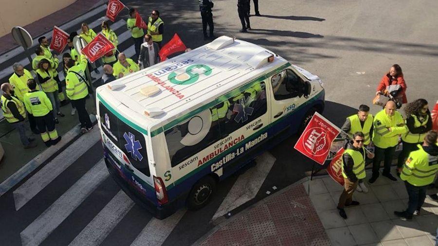 El nuevo convenio de ambulancias de CLM ya esta publicado en el DOCM