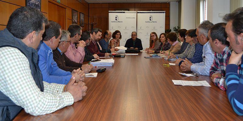 La Junta reafirma su apoyo a la Ganadería en una reunión mantenida con ganaderos de la Sierra Norte de Guadalajara