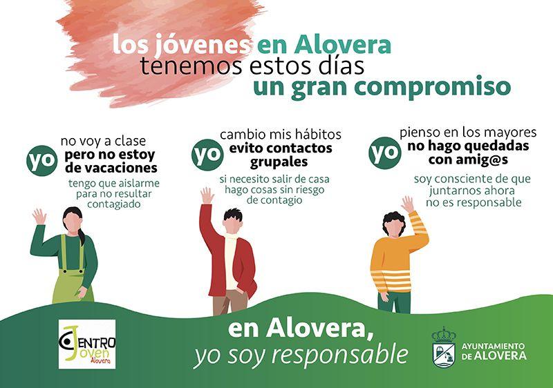 Alovera lanza campañas para jóvenes y padres para cambiar hábitos frente al coronavirus