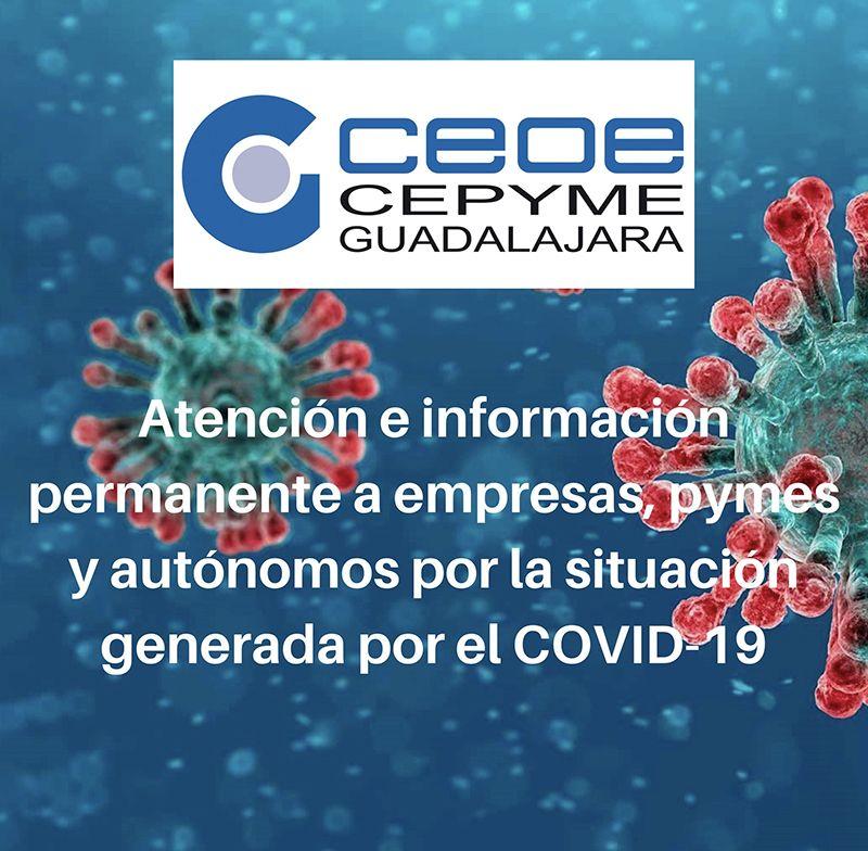 CEOE-Cepyme Guadalajara está al lado de las pymes, autónomos y empresarios asesorado e informando