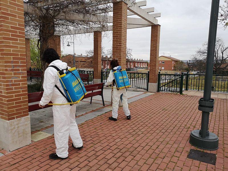 El Ayuntamiento de Cabanillas adquiere nuevos medios para intensificar las desinfecciones de calles