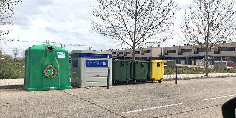 El Ayuntamiento de Cabanillas solicita a los ciudadanos que dejen abiertas las tapas de los contenedores durante la alerta sanitaria