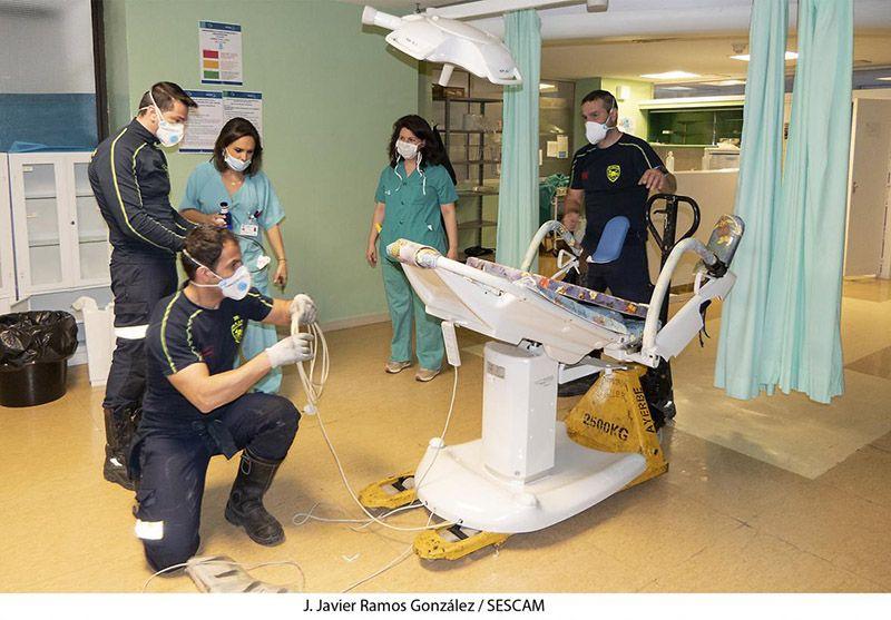 El SESCAM traslada a los pacientes de la Unidad de Hospitalización 5B de Psiquiatría de Guadalajara hasta el IEN y gana 22 camas más en el Hospital