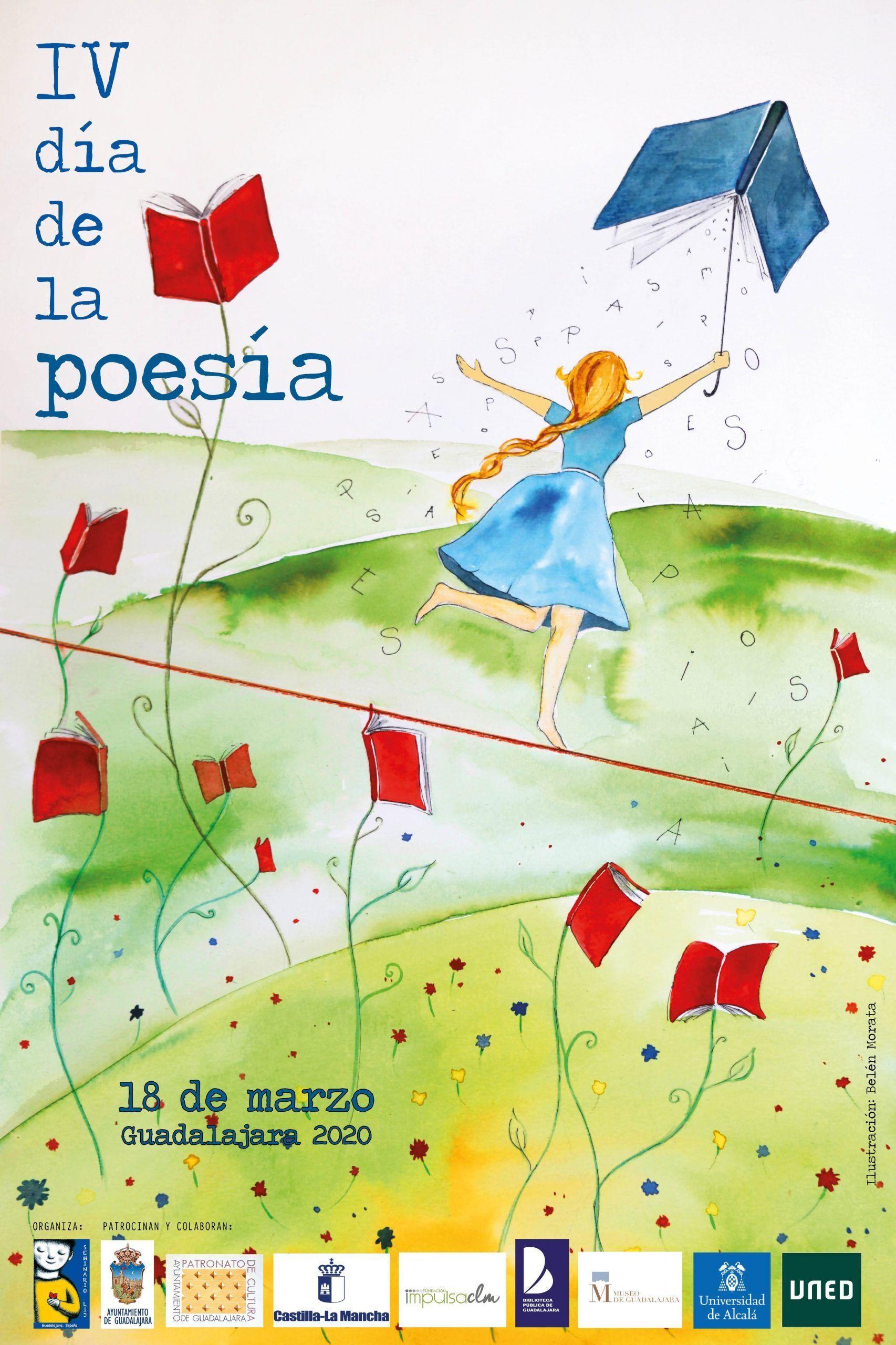 Guadalajara celebrará el sábado un Día de la Poesía  virtual, participativo e imaginativo