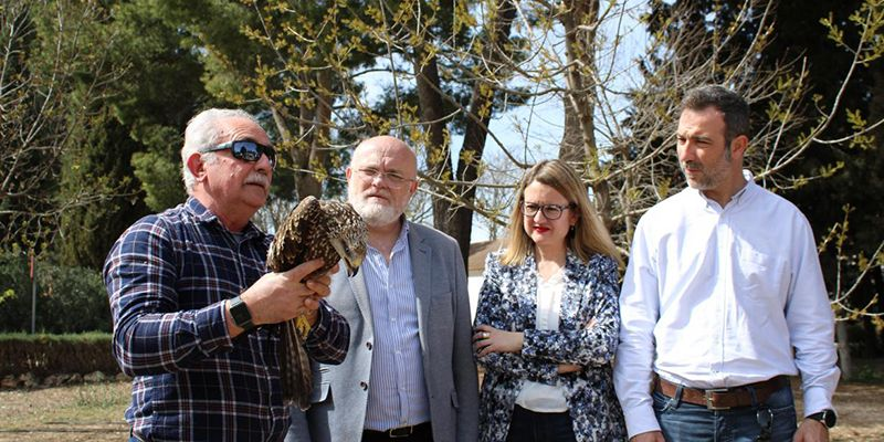 La Junta destaca el papel de los profesionales de los centros provinciales de recuperación de la fauna en el desarrollo de los planes de conservación de especies protegidas