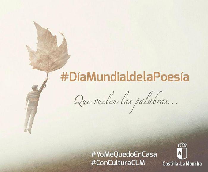La Junta pone en marcha una iniciativa online para celebrar el Día Mundial de la Poesía desde #yomequedoencasa